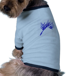 Helecho azul camisetas de perrito