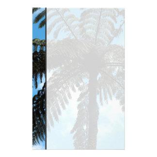 Helecho de árbol de Nueva Zelanda Papeleria De Diseño