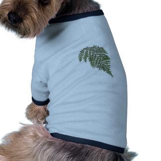 Helecho de encaje camiseta de perro
