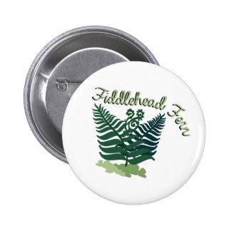 Helecho de Fiddlehead Pin