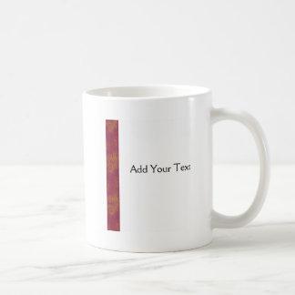 Helechos de la puesta del sol taza de café