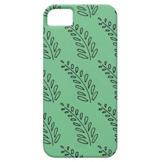 Helechos verdes funda para iPhone SE/5/5s