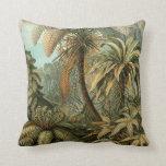 Helechos y palmera del vintage botánicos cojin