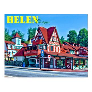 Helen alpina, Georgia, los E.E.U.U. Tarjeta Postal