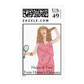 Helen de Troy, Helen de la odisea del home run de Estampillas