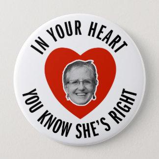 Helen for President Button