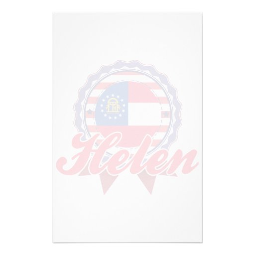 Helen, GA Stationery Design