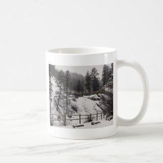 Helen Hunt Falls in Winter Coffee Mug