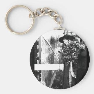 Helen Keller Christens a United_War Image Keychain