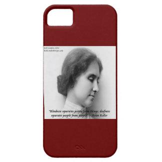 Helen Keller & Deaf/Blind Quote iPhone 5 Case