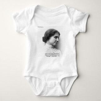 """Helen Keller """"Faith/Strength"""" Wisdom Quote Gifts T Shirt"""