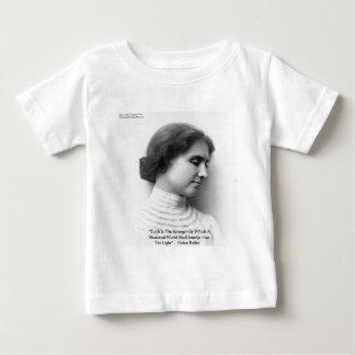 """Helen Keller """"Faith/Strength"""" Wisdom Quote Gifts T-shirt"""