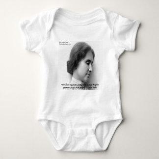Helen Keller & Famous Deaf/Blind Quote T Shirt