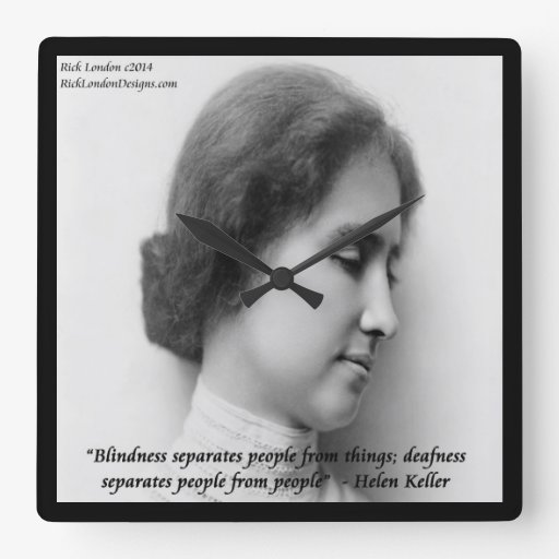 Helen Keller Deaf Quotes Quotesgram
