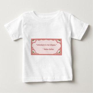 Helen Keller on Literature T Shirt
