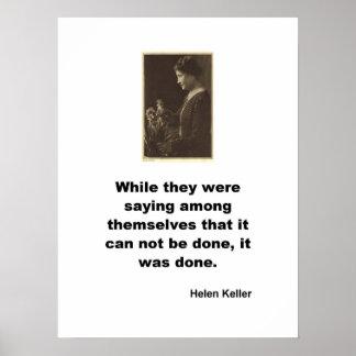 Helen Keller Póster