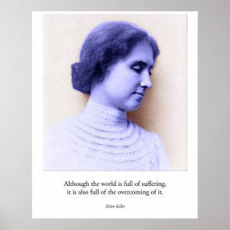 Helen Keller Poster