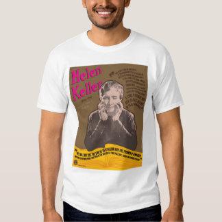 Helen Keller print tee-shirt T-shirt