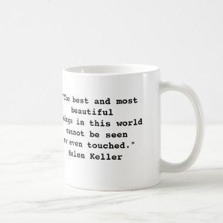 Helen Keller Quote Mug