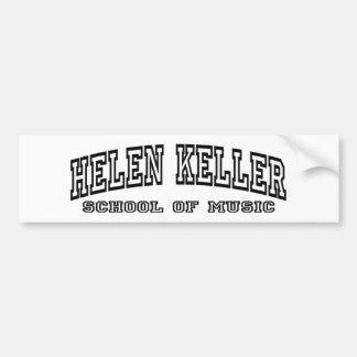 Helen Keller School of Music - Bumper Sticker