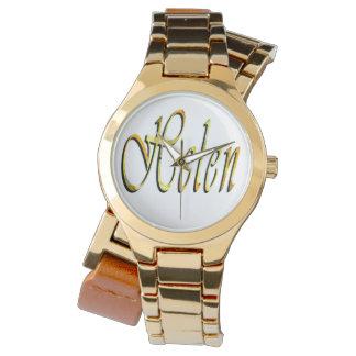 Helen, Name, Logo, Ladies Gold Wrap Watch