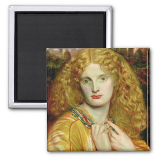 Helen of Troy, 1863 2 Inch Square Magnet