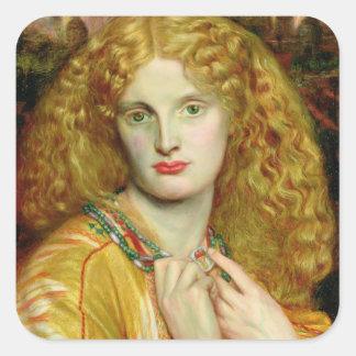 Helen of Troy, 1863 Square Sticker