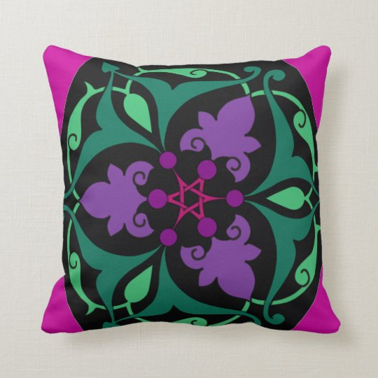 """""""Helen of Troy"""" Throw Pillow"""