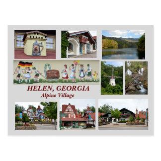Helen. Postal de Georgia