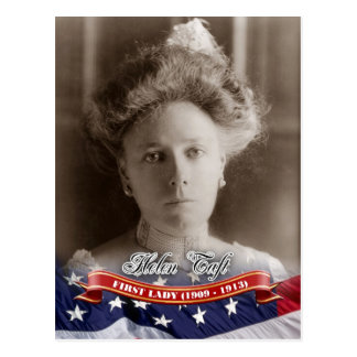 Helen Taft, First Lady of the U.S. Postcard