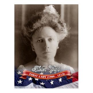 Helen Taft, primera señora de los E.E.U.U. Tarjeta Postal