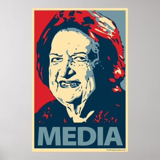 Helen Thomas - Media: OHP Poster