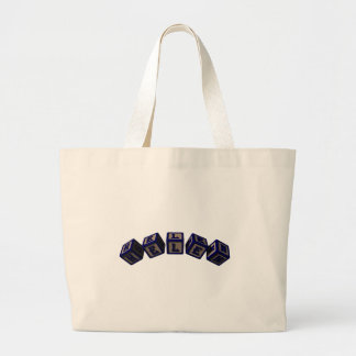 Helen toy blocks in blue bags
