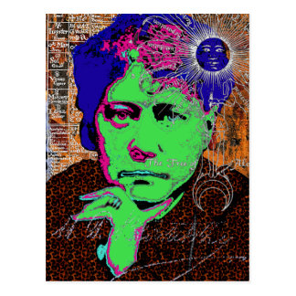 Helena Blavatsky Theosophy Occult Esoteric New Age Postcard