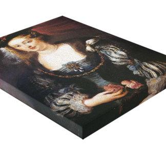 Helena Fourment by Peter Paul Rubens Canvas Print