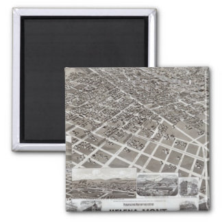 Helena, Mont 2 Inch Square Magnet