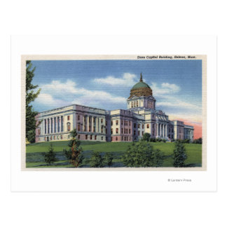 Helena, Montana - State Capitol Building View Postcard