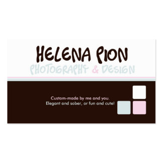 Helena Pion Business Cards