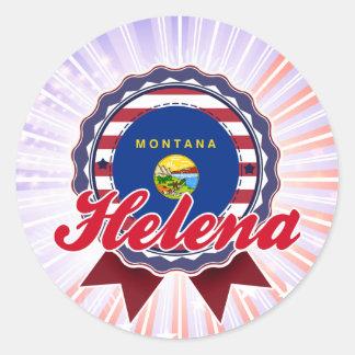 Helena, TA Etiqueta Redonda