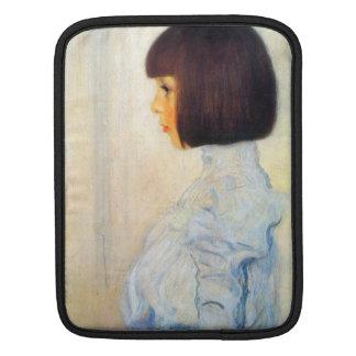 Helene Klimt portrait by Gustav Klimt Sleeves For iPads