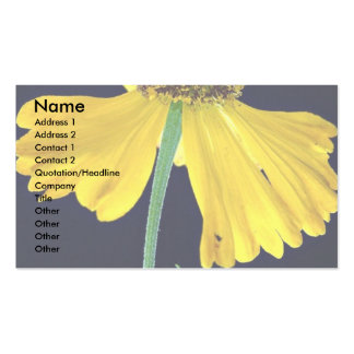 Helenium, Bressingham's Gold Business Card Templates