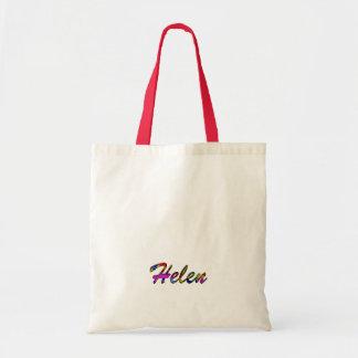 Helen's canvas bag