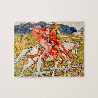 Helga Chooses Her Horse Jigsaw Puzzle
