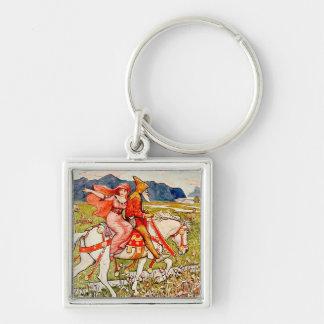 Helga Chooses Her Horse Key Chain