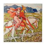 Helga Chooses Her Horse Tile
