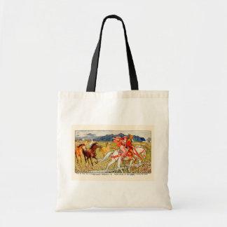 Helga elige su caballo bolsa