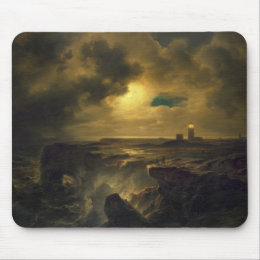 Helgoland in Moonlight, 1851 Mouse Pad