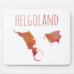 Helgoland Map Mouse Pad