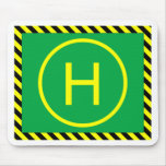 Heli landing Pad Mouse Pads