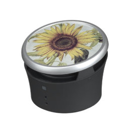 Helianthus Annuus from 'Velins du Roi Vol.36' Bluetooth Speaker